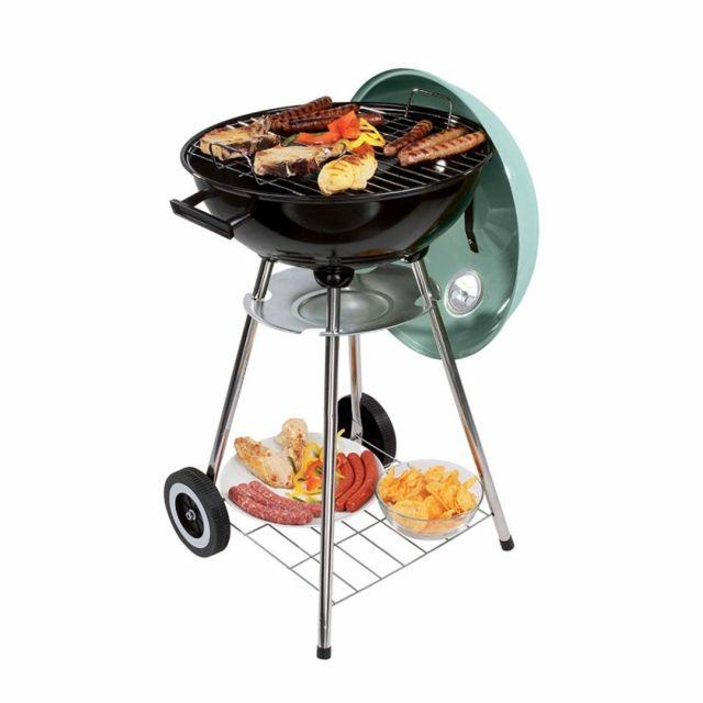 Barbecue à charbon Karmila L 85,5 x l 45 x H 79,5 cm pas
