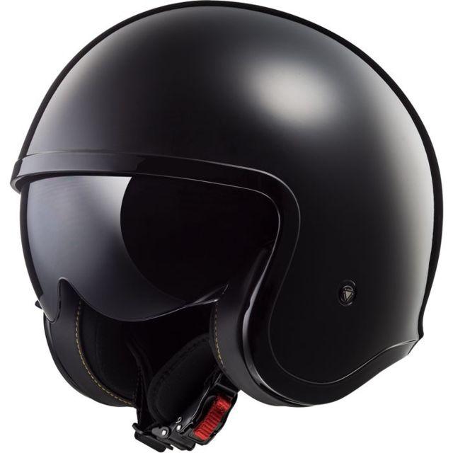 Noir M LS2 Casque moto OF569 TRACK NOIR