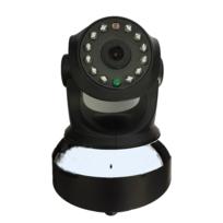 TBS - TBS3021 Caméra de surveillance IP Wifi sans fil - HD 720P 1280x70 - Détection mouvement - avec Port Alarme Entrée Sortie - Alerte téléphone - Vision Nocturne - Son bidirectionnel - Motorisée