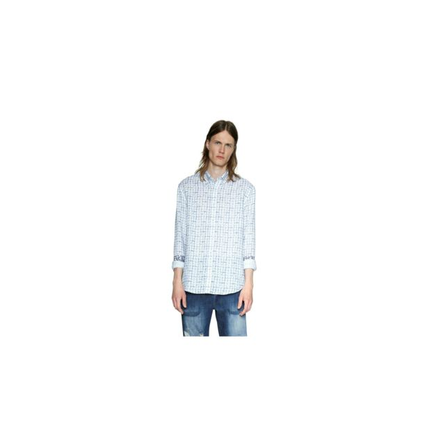 Chemise 18smcw45 S Taille Blanc Terry QdstBhrxC