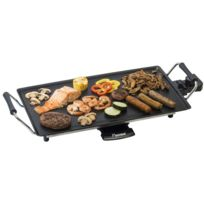 BESTRON - Plancha 47,5x26,5cm 2000W avec thermostat récupérateur de graisse intégrée