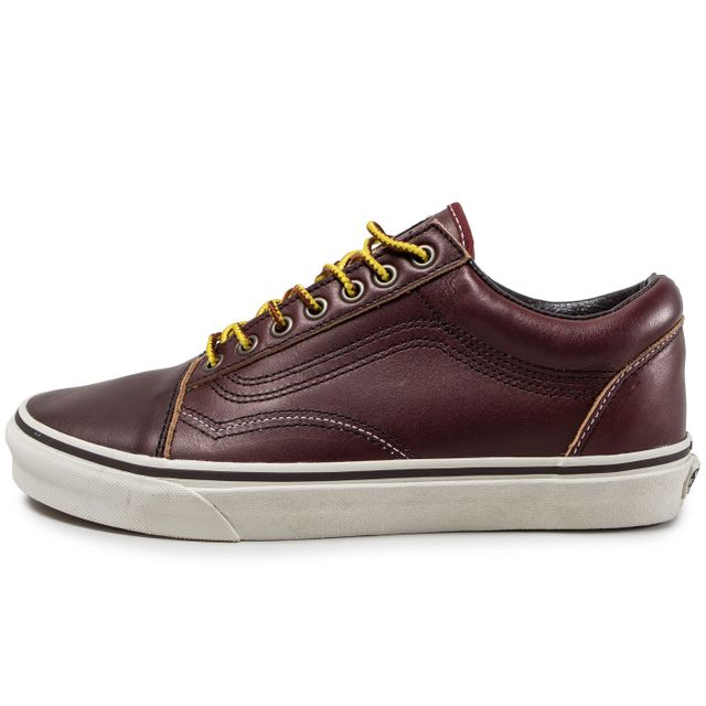 vans old skool homme rouge bordeaux