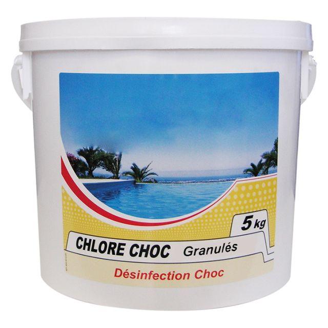 nmp chlore choc granul 5kg chlore choc granules pas cher achat vente produits sp ciaux. Black Bedroom Furniture Sets. Home Design Ideas
