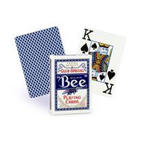 Bicycle - Cartes Bee poker jumbo bleu
