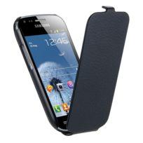 Oxo Platinum - Etui à clapet noir pour Samsung Galaxy Note 3