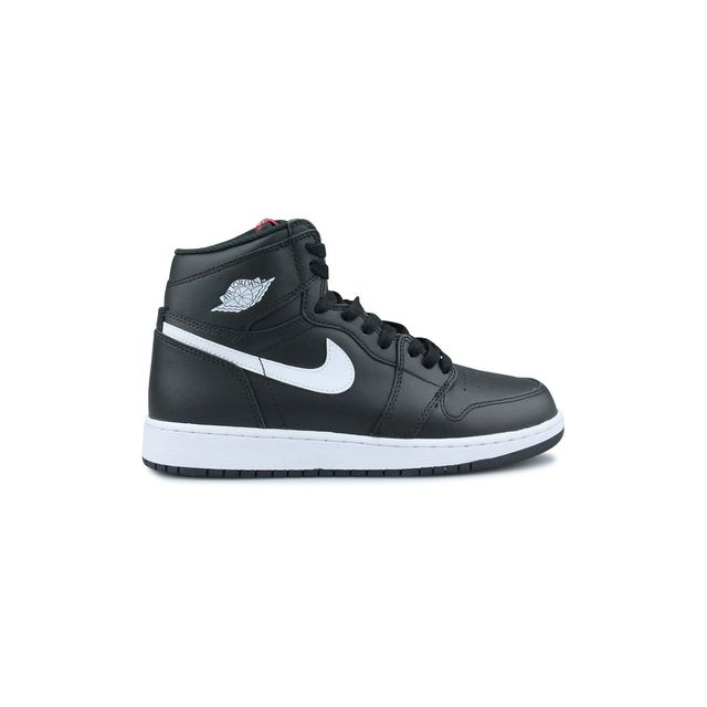 brand new 2378e c6185 Nike - Air Jordan 1 Retro High Og Ying Yang Noir Junior - pas cher Achat    Vente Baskets enfant - RueDuCommerce