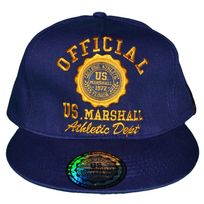 Us Marshall - En Solde Casquette Snapback - Taille Réglable - Navy Jaune