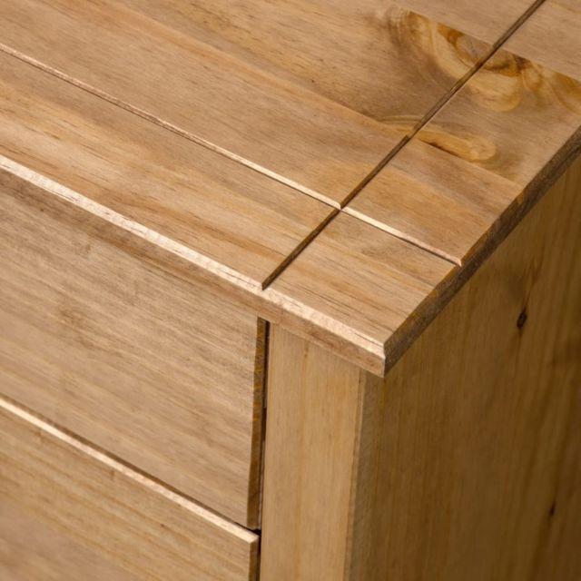 Icaverne - Buffets & bahuts ligne Armoire latérale 80x40x73 cm Pin Assortiment Panama