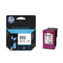 HP - Pack de cartouches d'encre Couleur 302 - F6U65AE