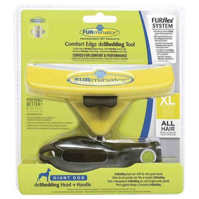 Furminator Brosse deShedding Furflex Comfort Edge pour Chien de Très Grande Race Xl