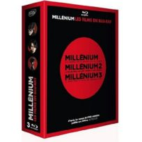 Blu-Ray - Coffret Millenium. La Trilogie