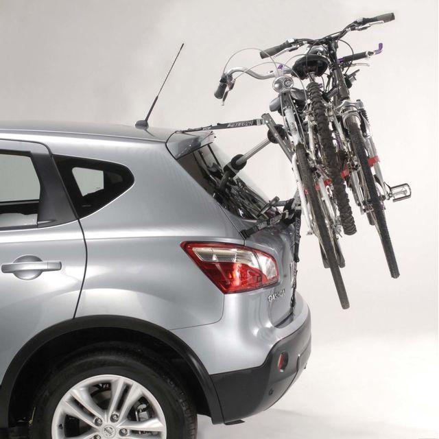 MOTTEZ - Porte vélos sur hayon à sangles - 3 velos - A025PMON