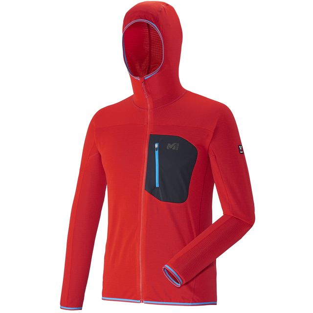 99fd679e54bb Millet - Sweat Polaire Trilogy Light Hoodie Red - Rouge Homme - pas cher  Achat   Vente Sweat homme - RueDuCommerce