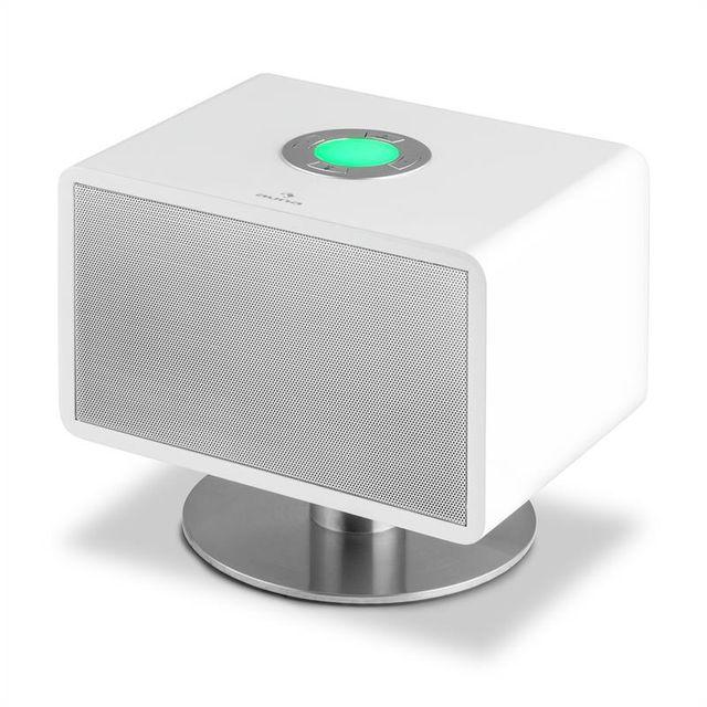 AUNA LivingQube enceinte Bluetooth -blanc