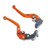 Mad - Leviers frein et embrayage Orange Ktm Rc8 / Duke, Super Duke, Sm-r