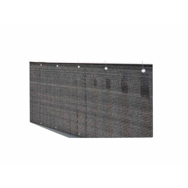 Claustra Balcon jardideco - brise vue pour balcon 500 x h.90 cm brun havane - pas
