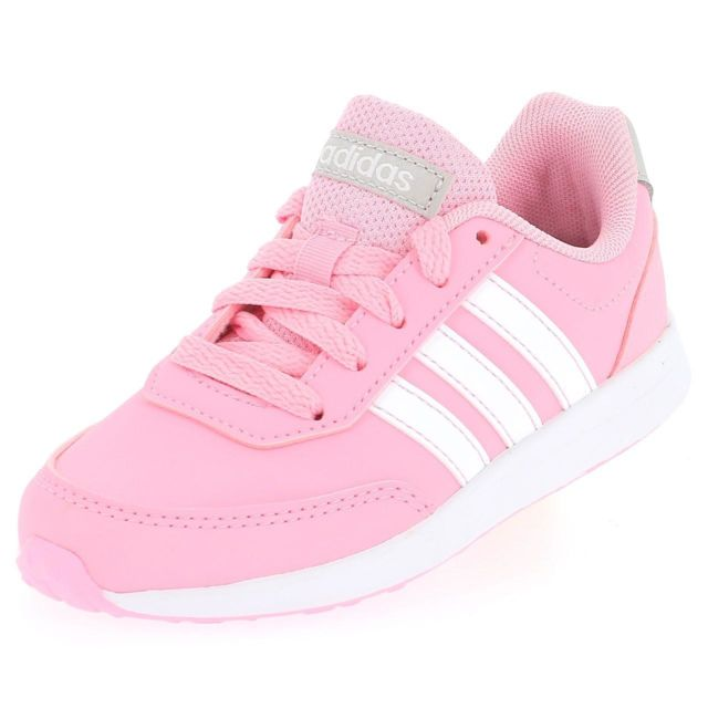 Chaussures basses cuir ou simili Vs switch rose Rose 47273