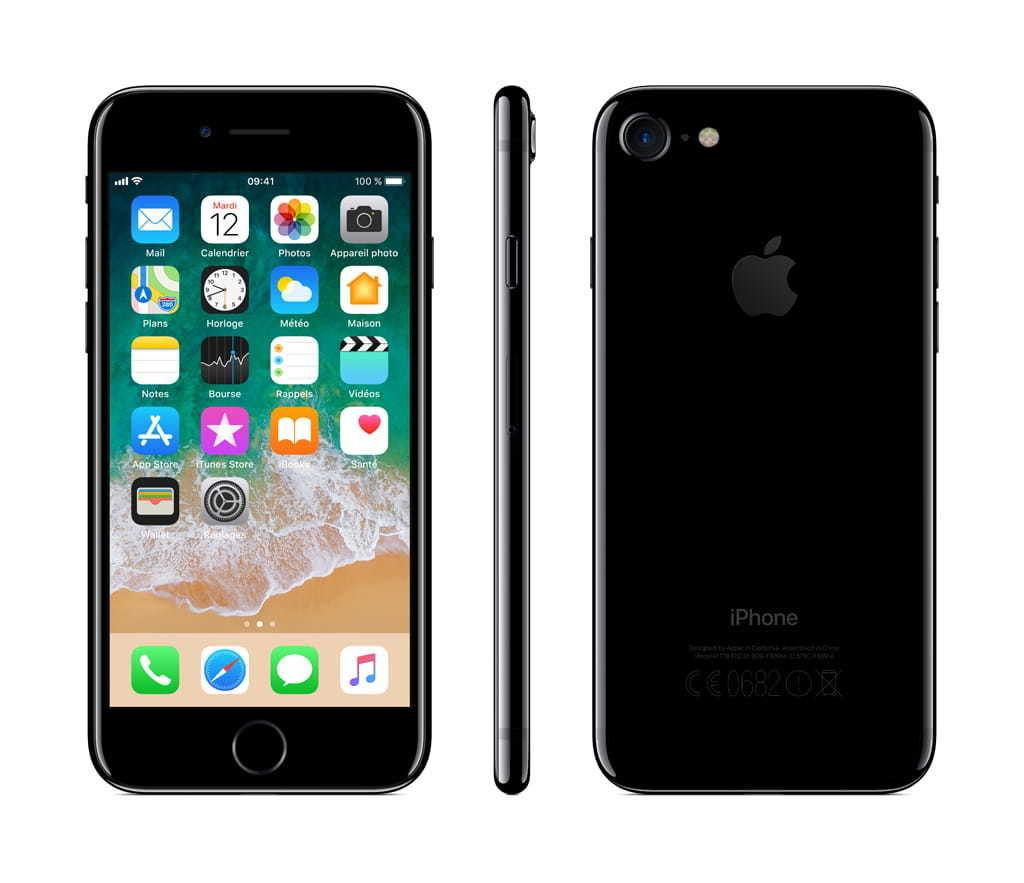 iPhone 7 - 32 Go - MQTX2ZD/A - Noir de Jais