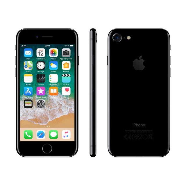 APPLE - iPhone 7 - 128 Go - MN962ZD/A - Noir de Jais