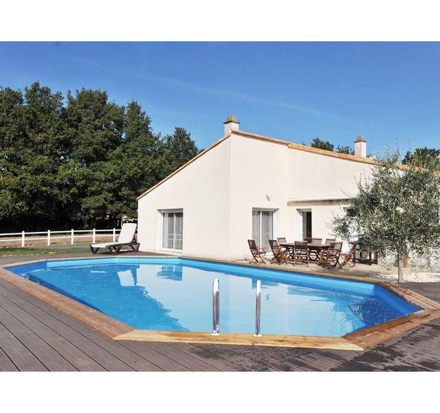 sunbay piscine bois sevilla 8 72 m x 4 72 m x h 1 46 m couleur liner bleu pas cher. Black Bedroom Furniture Sets. Home Design Ideas