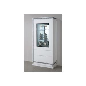 CHLOE DESIGN - Meuble vitrine - collection diamonds - bois laqué ...