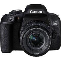 CANON - Reflex Noir - 800D 18-55