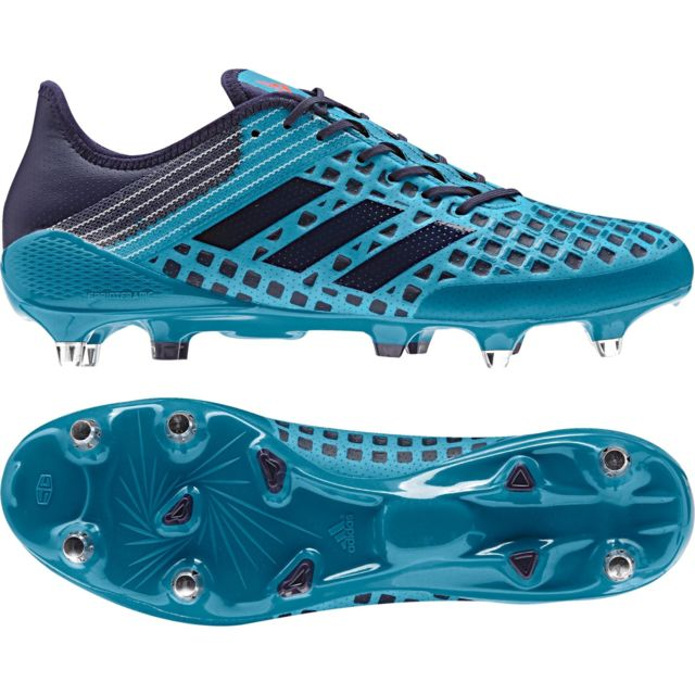 new style ec2d1 87860 Adidas - Chaussure Rugby Predator Malice Sg Bleu - taille   42 2 3 - pas  cher Achat   Vente Chaussures rugby - RueDuCommerce