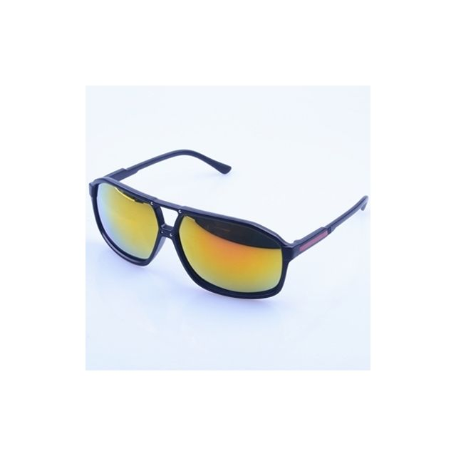 Wewoo - Pour le tir, vélo, ski et golf Lunettes de soleil Uv400 élégantes.  Couleur   Noir 08e8738598bf