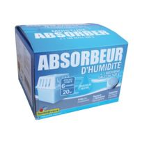 Humidivore - Absorbeur d'humidité + 1 recharge 500 g - 20 m²
