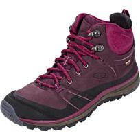 Keen - Terradora Leather Mid Wp - Chaussures - rouge/noir