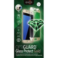 Qdos - Verre Trempe Optiguard Glass Bord A Bord Or Samsung Galaxy S7