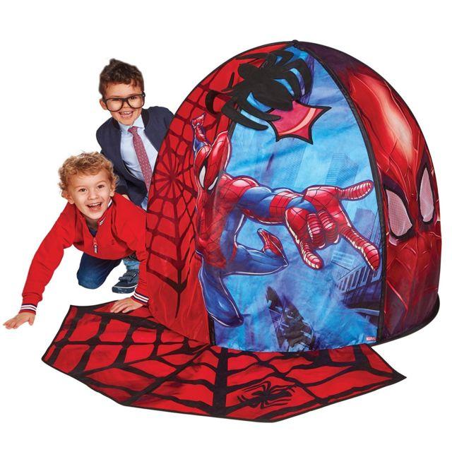 tente tunnel pour lit spiderman paris prix vendu par rueducommerce 87953. Black Bedroom Furniture Sets. Home Design Ideas