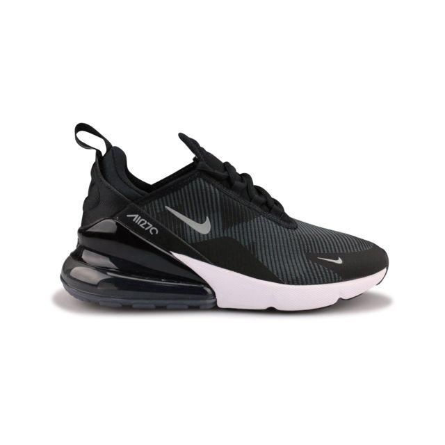Nike Air Max 270 Knit Jacquard Junior Noir Ar0301 008