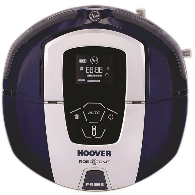 hoover aspirateur robot t l commande rbc030 1 achat aspirateur sans sac silencieux. Black Bedroom Furniture Sets. Home Design Ideas