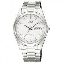 Lorus - Montre classique homme blanche Rxn51AX8
