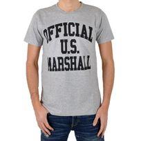 Us Marshall - T-shirt Official Gris / Noir