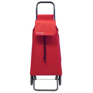 ROLSER - poussette de marché 2 roues 43l rouge - saq002rojo