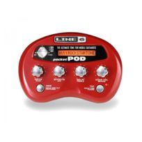 Line 6 - Pocket Pod - multi effets guitare