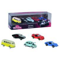 SMOBY - Majo vintage - Coffret 5 voitures miniature - Echelle 1/64 - 212052013
