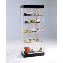vitrine exposition achat vitrine exposition pas cher soldes rueducommerce. Black Bedroom Furniture Sets. Home Design Ideas