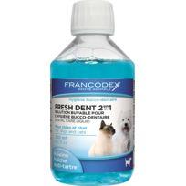 Francodex - Fresh Dent Petit Chien Et Chat 250 Ml