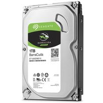 SEAGATE - Disque dur interne Barracuda 3,5'' 1000 Go - Bulk - 7200RPM - 64Mb - SATA 6.0Gb/s - ST1000DM010