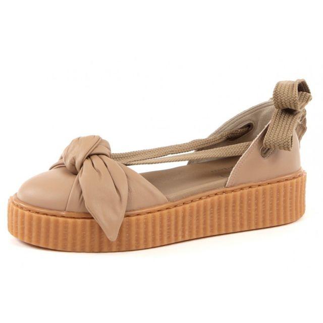 Puma Baskets mode Bow Creeper Sandal pas cher Achat