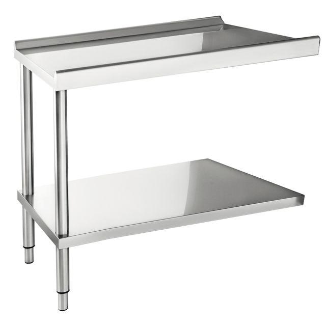 CASSELIN table d'entrée ou de sortie pour lave-vaisselle 120cm - ct1200