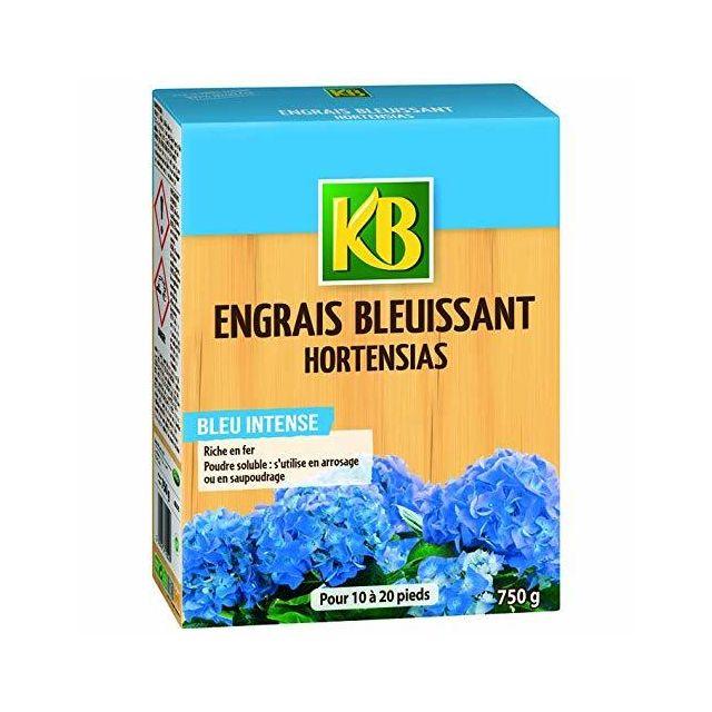Engrais bleuissant pour hortensias - 750 Grs - KB