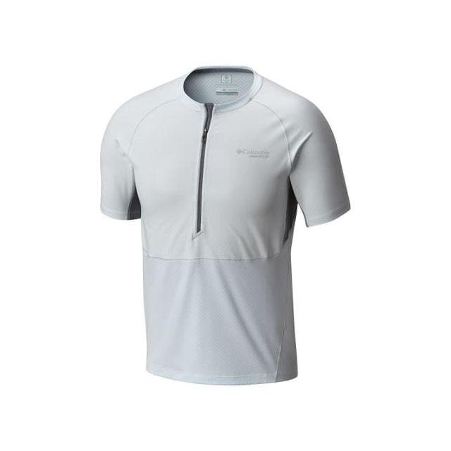 Columbia T shirt F.K.T manche courte blanc pas cher