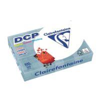 Clairefontaine - Ramette papier mat Dcp A4 100 gr - 500 feuilles - blanc