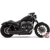 Harley-Davidson - Harley Davidson Xl 883-1200-07/13-SILENCIEUX Ligne Echappement Cobra Speedster Slash Down Black-1800-1403
