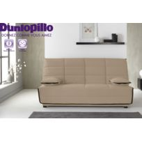 Relaxima - Banquette-lit Emylia - Matelas Dunlopillo Hr35kg - Grand couchage