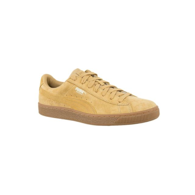 Pas Cher Mode Basket Beige Weatherproof 363829 Baskets Puma Lj34R5A